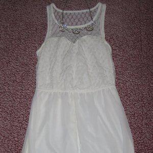 No Boundaries Sleeveless maxi dress